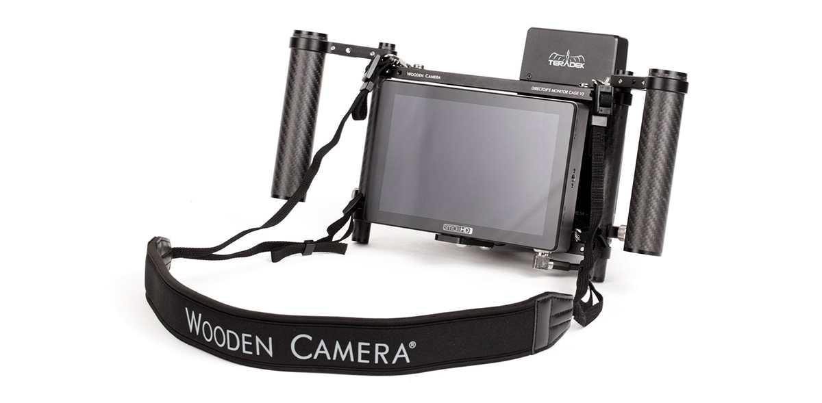 Wooden Camera Director's Monitor Cage v3