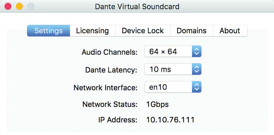 Audinate Dante Virtual Soundcard ile Ses Ağı